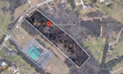 Buford Residential Lots & Land For Sale: 3839 Sardis Church Rd