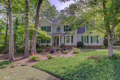 Peachtree City Single Family Home Under Contract: 102 Stoneacre Curve