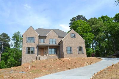 Marietta, Roswell Single Family Home For Sale: 308 Indian Hills Trl