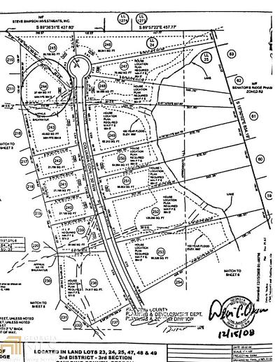 Paulding County Residential Lots & Land For Sale: 287 Columbia Cv