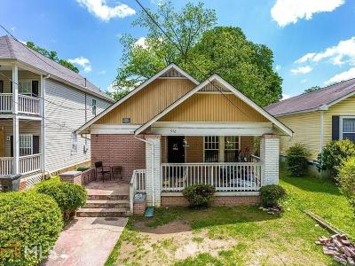 Peoplestown Single Family Home For Sale: 976 Washington St