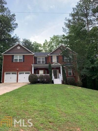 Villa Rica Single Family Home For Sale: 10078 Lakeview Pkwy