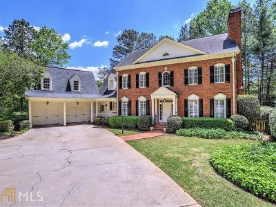 Marietta, Roswell Single Family Home Under Contract: 5199 Baldwin Ter