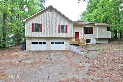 Kennesaw Single Family Home For Sale: 3740 Stonewall Dr