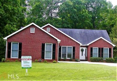Conyers Single Family Home Under Contract: 1121 SE Plantation Dr