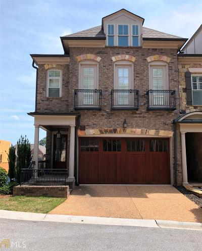 Vinings Condo/Townhouse For Sale: 3887 Paces Lookout Dr #16