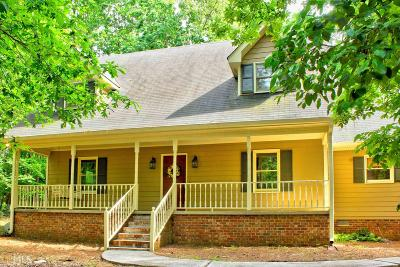 Monroe, Social Circle, Loganville Single Family Home Under Contract: 859 Wild Turkey Trl