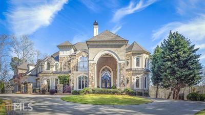 Alpharetta, Milton, Roswell Single Family Home For Sale: 13560 Blakmaral Ln
