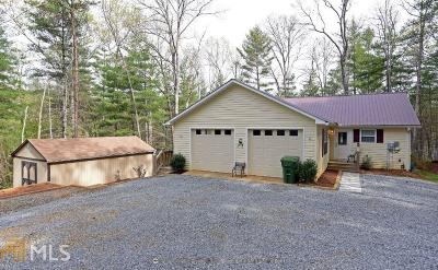 Blairsville Single Family Home Under Contract: 24 Home Place Spur