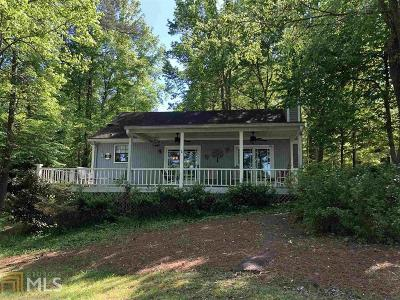Milledgeville, Sparta, Eatonton Single Family Home For Sale: 156 Crooked Creek Bay Rd