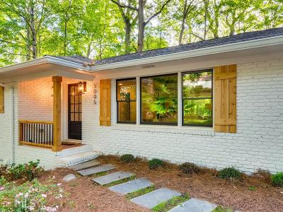 Sandy Springs Single Family Home For Sale: 5005 Vallo Vista Ct