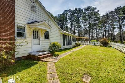 Powder Springs Single Family Home For Sale: 3991 Sharon Dr