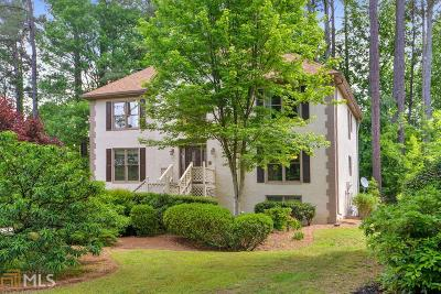 Kennesaw Single Family Home For Sale: 192 Lakeside Dr