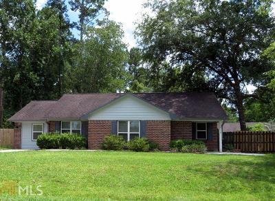 The Meadows Single Family Home For Sale: 115 Old Folkston Rd