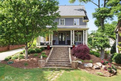 Roswell, Sandy Springs Single Family Home For Sale: 1232 Minhinette Dr