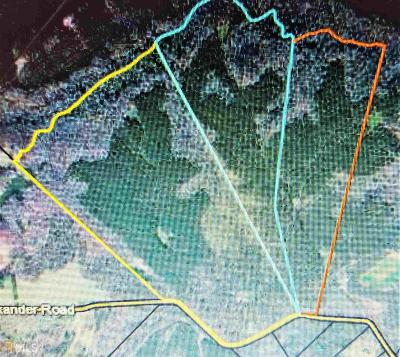 Monticello Residential Lots & Land For Sale: Alexander Rd #165.96 A