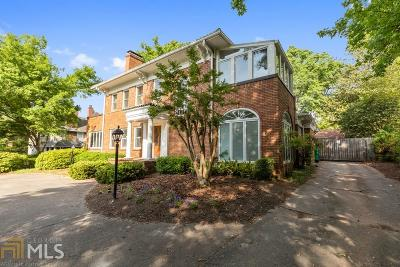 Druid Hills Single Family Home For Sale: 1036 Oxford Rd