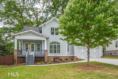 Norcross Single Family Home For Sale: 230 Hunt St