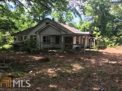 Douglasville Single Family Home For Sale: 6889 Berea Rd