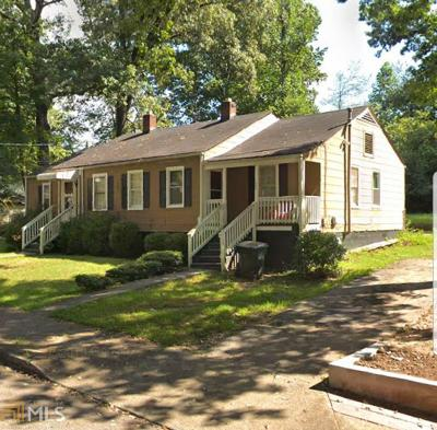 Hapeville Multi Family Home For Sale: 3282 Russell St