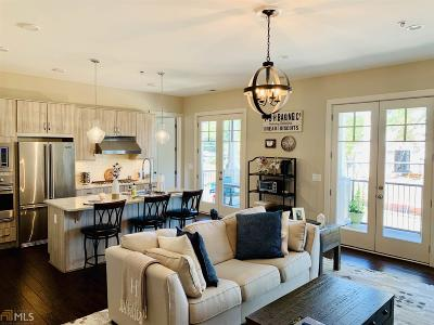 Roswell Condo/Townhouse For Sale: 201 Canton Way
