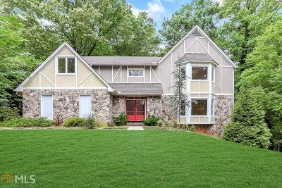 Sandy Springs Single Family Home For Sale: 890 Waddington Ct