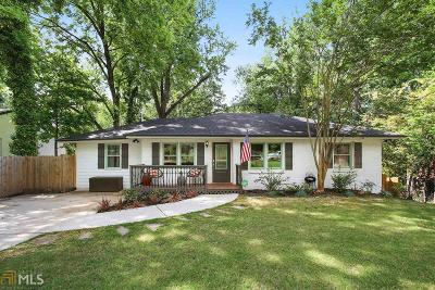 Decatur Single Family Home New: 2875 Catalina