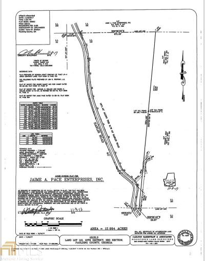 Paulding County Residential Lots & Land For Sale: Hanlin Rd