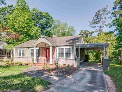 Griffin Single Family Home Back On Market: 511 Kincaid Ave