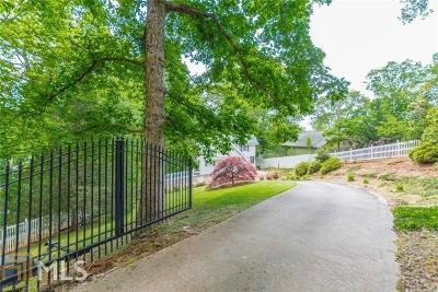 Dawsonville Single Family Home For Sale: 197 Moss Overlook Rd