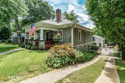 Howell Station Single Family Home For Sale: 994 Longley Ave