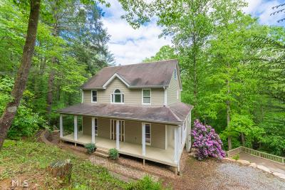 Dahlonega Single Family Home For Sale: 144 Yahoola Indian