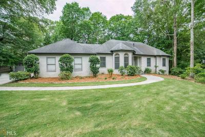 Peachtree City Single Family Home Under Contract: 213 Tiverton Trl