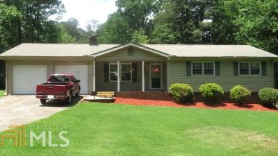 Douglasville Single Family Home Under Contract: 3972 Holland Dr