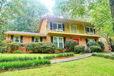 Stone Mountain Single Family Home For Sale: 4372 Coleman Dr