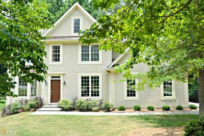 Peachtree City Single Family Home For Sale: 107 Stoneacre Curve