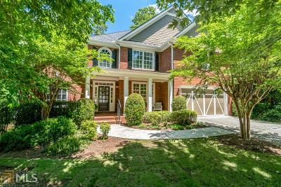 Suwanee Single Family Home New: 159 Leah View Walk
