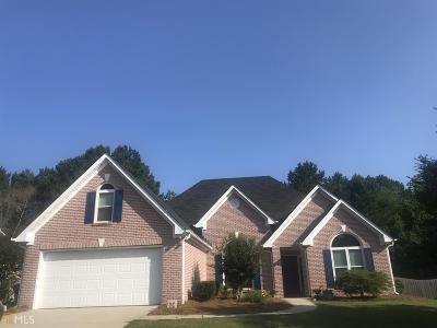 Loganville Single Family Home New: 185 Graymist Ln