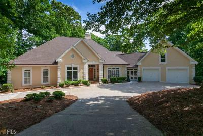 Roswell, Sandy Springs Single Family Home For Sale: 8160 Jett Ferry Rd