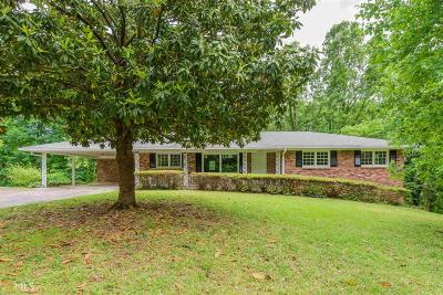 Austell Single Family Home Under Contract: 7075 Pleasant Dr