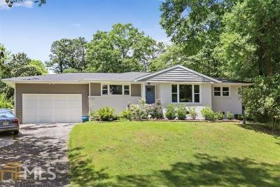 Atlanta Single Family Home For Sale: 3306 Pine Meadow Rd