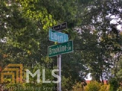 Atlanta Residential Lots & Land New: Elbert St