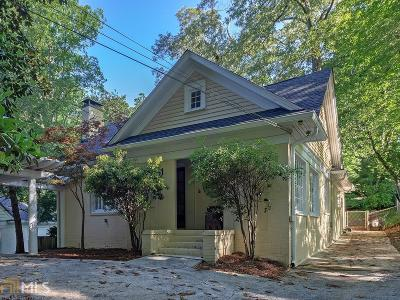 Atlanta Single Family Home For Sale: 172 Lindbergh Dr