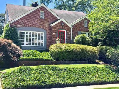 Piedmont Heights Single Family Home For Sale: 1770 Flagler Ave
