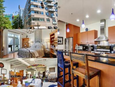 Midtown Condo/Townhouse For Sale: 805 Peachtree St #512