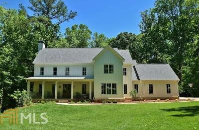 Alpharetta Single Family Home New: 124 Long Shadows Dr