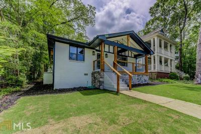Atlanta Single Family Home New: 976 Gilbert St