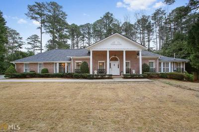 Sandy Springs Single Family Home For Sale: 620 River Valley