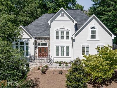 Marietta Single Family Home New: 1229 Riversound