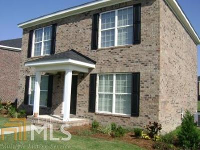 Statesboro Single Family Home New: 168 Herschel Dr #35